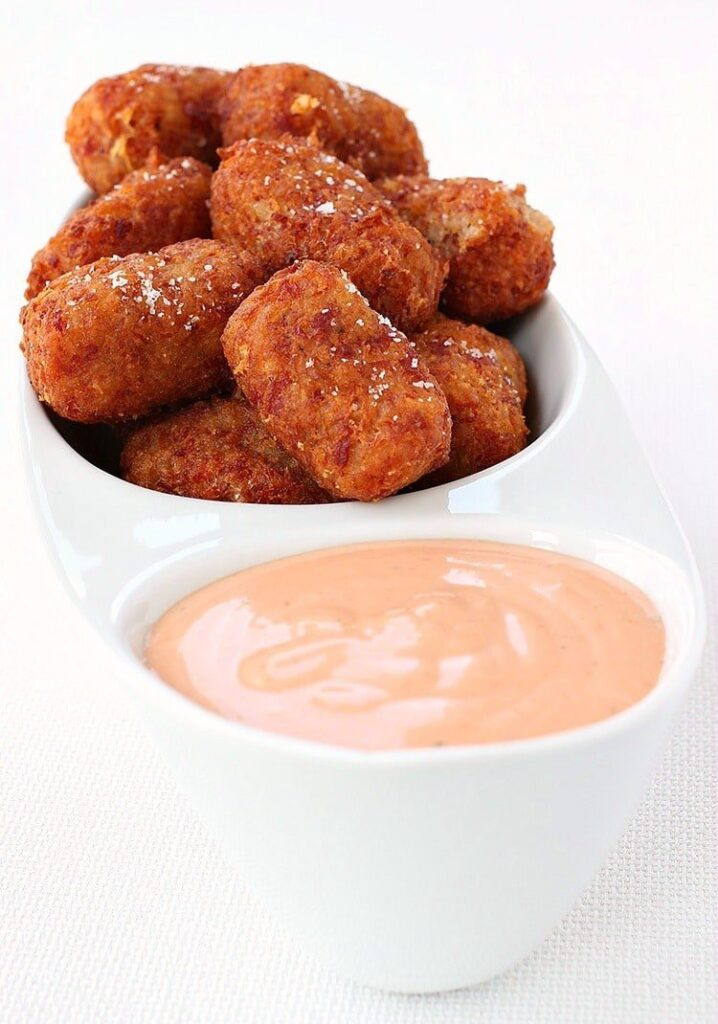 Cheesy Corned Beef Tater Tots are a homemade tater tot recipe with leftover corned beef