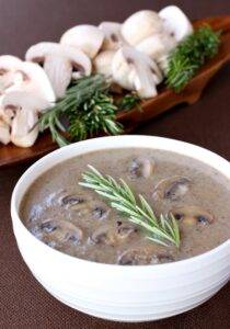 Creamy Marsala Mushroom Soup