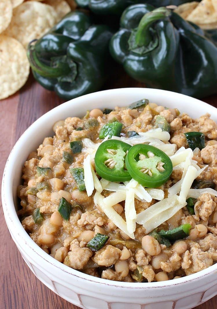 Thai Chicken Chili is a chicken chili recipe with a peanut and chili flavor