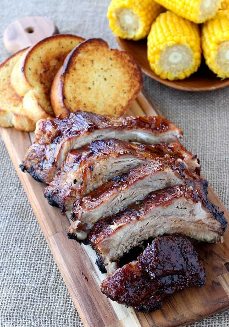 Easy BBQ Ribs are a rib recipe that can be made ahead of time
