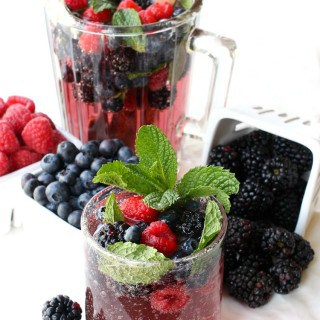 Blackberry Vodka Punch