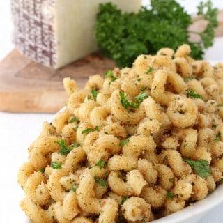 Garlic Bread Pasta