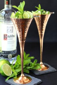 Champagne Mule