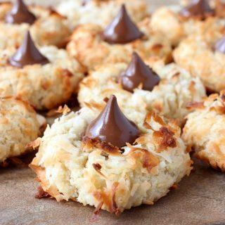 Coconut Rum Cookies