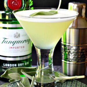 Sage Gin Martini