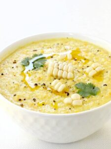 Chilled Sweet Corn Soup Recipe