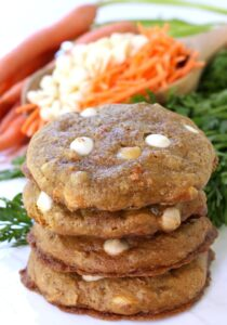 Chocolate Chip Carrot Cake Cookies