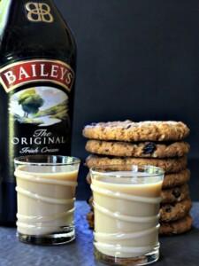Oatmeal Cookie Shots are a boozy, sweet dessert shot