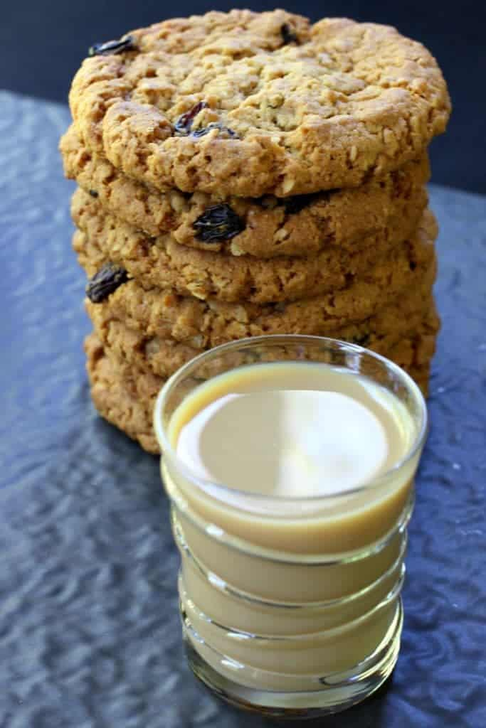 An Oatmeal Cookie Shot is a dessert shot recipe made with Baileys