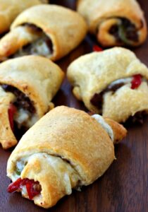 Philly Cheesesteak Crescent Rolls
