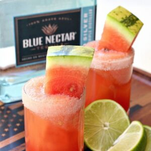 Watermelon Margarita Shooters