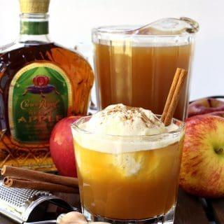 Whisky Apple Pie Float