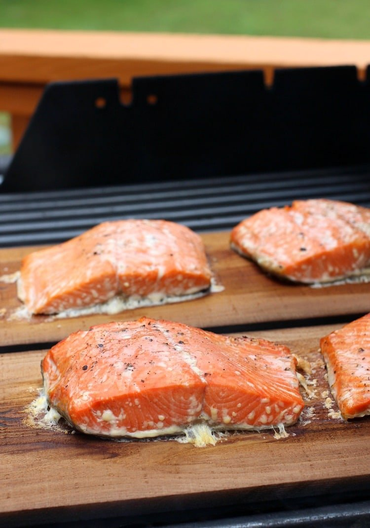 cedar-plank-salmon-basil-cream-sauce-grill-after