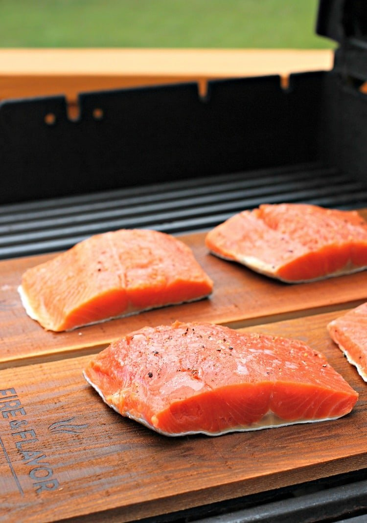 cedar-plank-salmon-basil-cream-sauce-grill-before