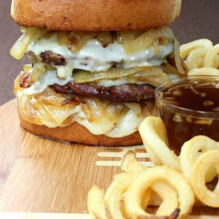 French Onion Field Goal Burger