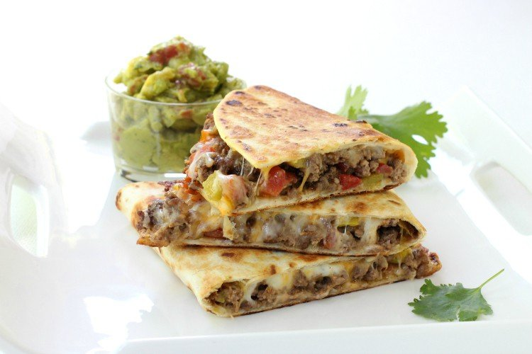 Pan Fried Beef Tacos are a beef taco recipe with a crispy tortilla shell