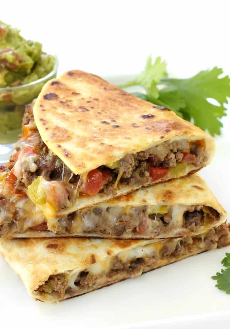 Pan Fried Beef Tacos are a fried taco recipe with cheese and beef