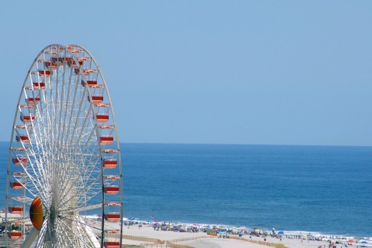 Giant Wheel on Mariner's Landing