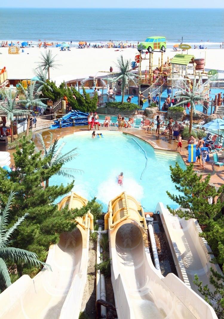 Ocean Oasis Slides