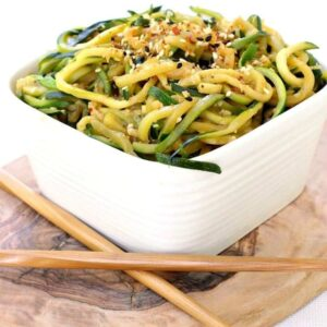 Asian Zucchini Noodles