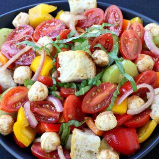Balsamic Panzanella Salad