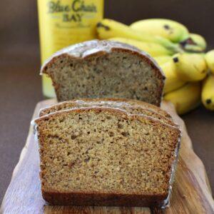 Banana Rum Banana Bread