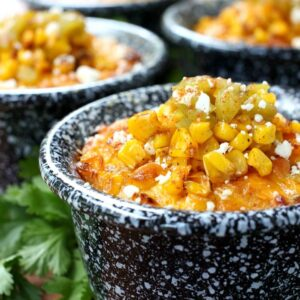 Mexican Street Corn Pudding