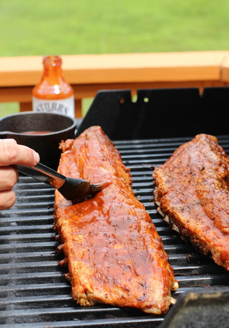 Overnight Slow Cooker Ribs is a bbq rib recipe that can be made ahead of time