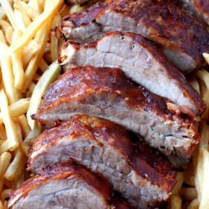 Overnight Slow Cooker Ribs