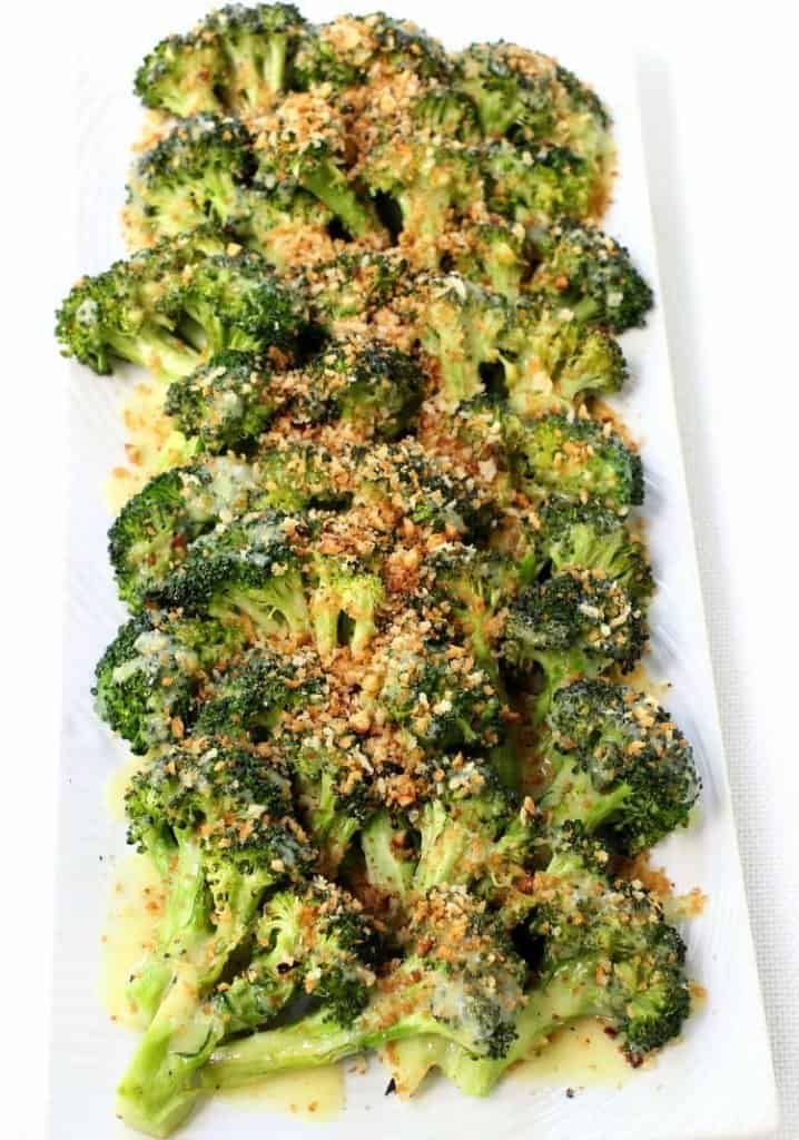Roasted Broccoli with Buttery Bread Crumbs is by FAR the best broccoli I've ever had!