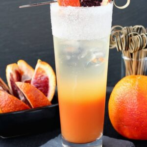 Blood Orange Gin Cooler