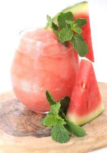Watermelon Rosé Slushie