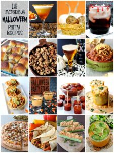 This 15 Incredible Halloween Party Recipe collection is all you need!