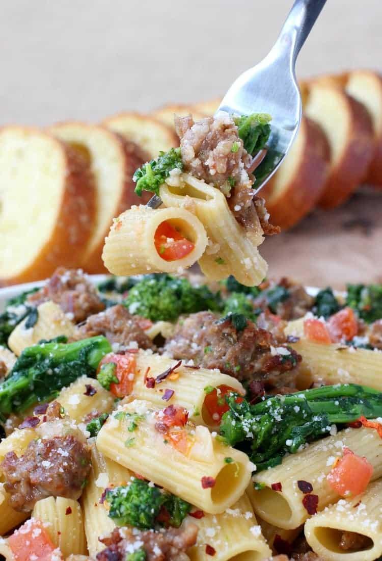 Easy Rigatoni Pasta Recipe