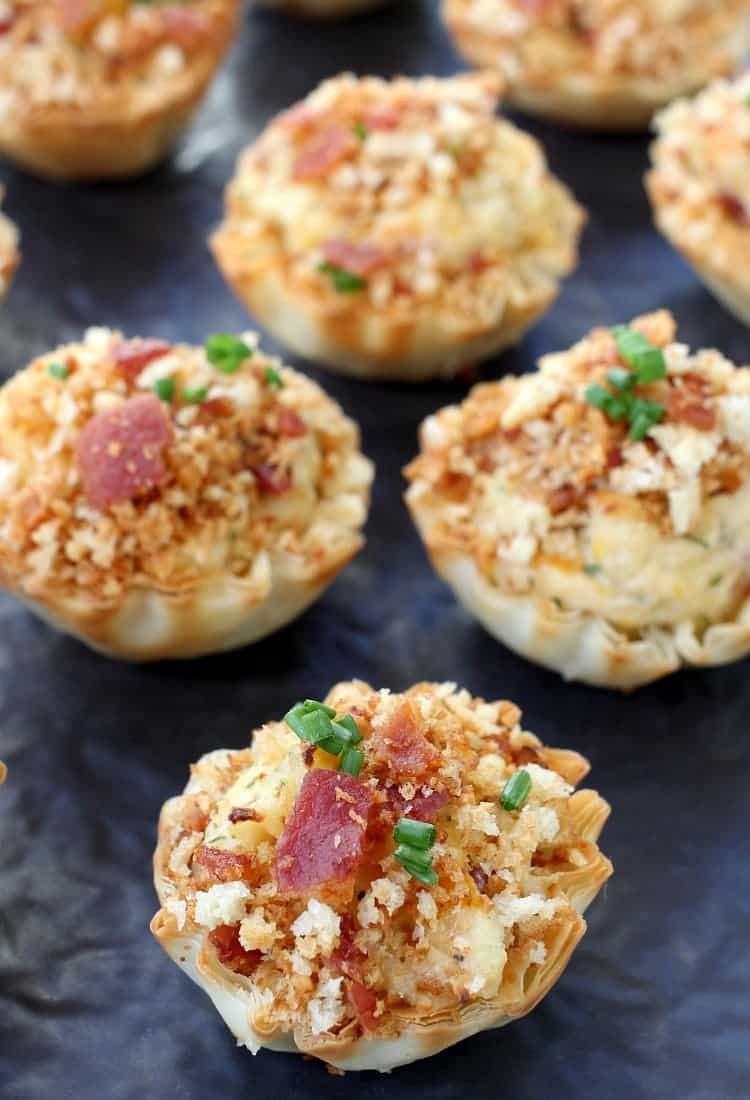 Easy Clams Casino Tarts will be a hit at any party!