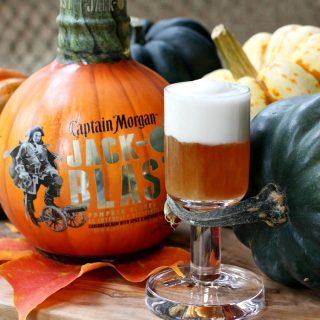 Jack-O'Blast Pumpkin Rum Shooters