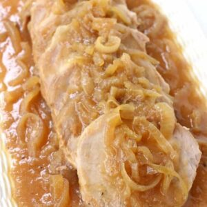 Crock Pot Applesauce Pork Roast Recipe