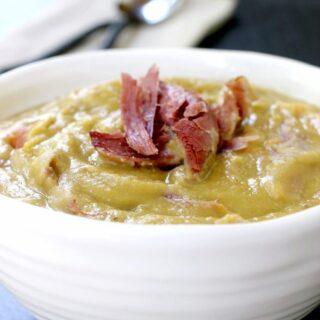 Turkey Leg Split Pea Soup
