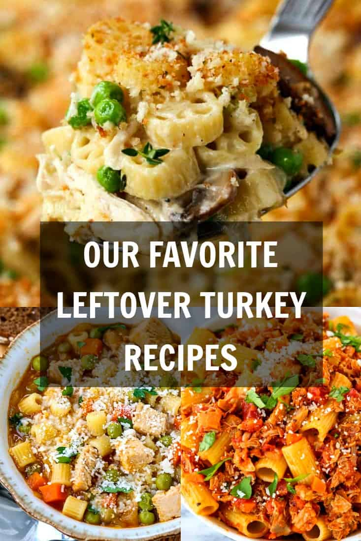 Leftover turkey recipes collection