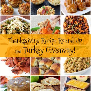 Thanksgiving Recipe Round Up and Turkey Giveaway!