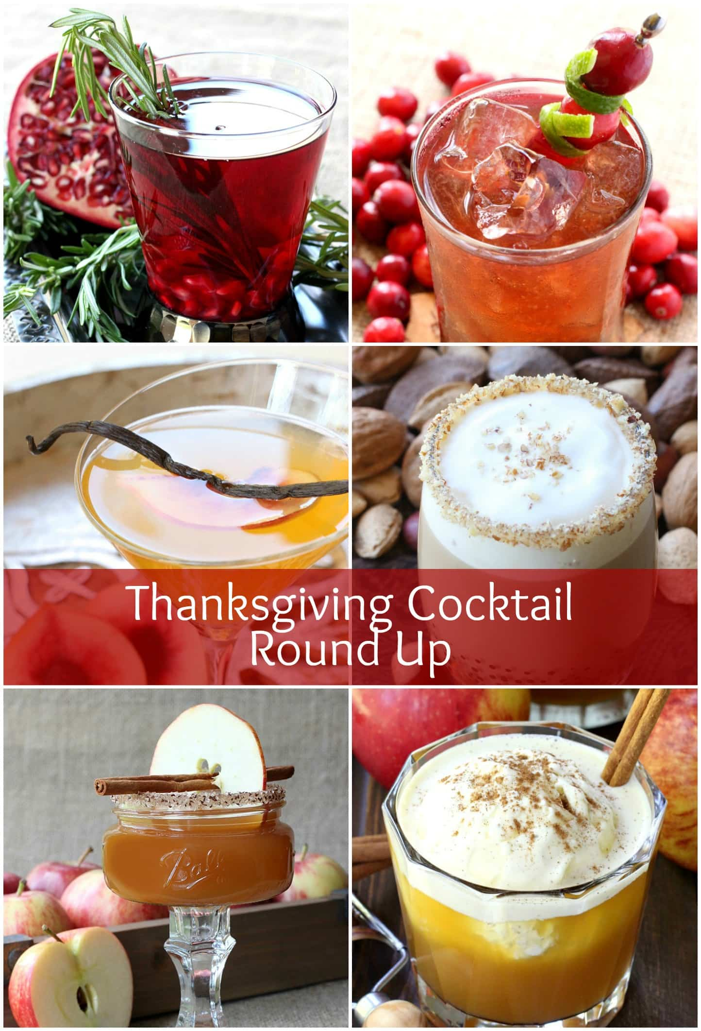Thanksgiving cocktail round up mantitlement for Thanksgiving drinks alcoholic recipes