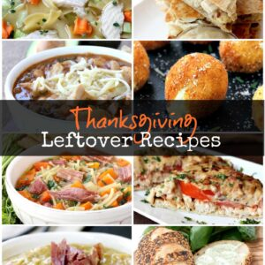 Thanksgiving Leftover Recipes is all you'll need to make with all your leftovers