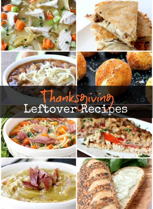 Thanksgiving Leftover Recipes is all you'll need to make epic leftovers!