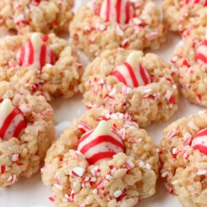 Rice Krispies® Peppermint Blossoms