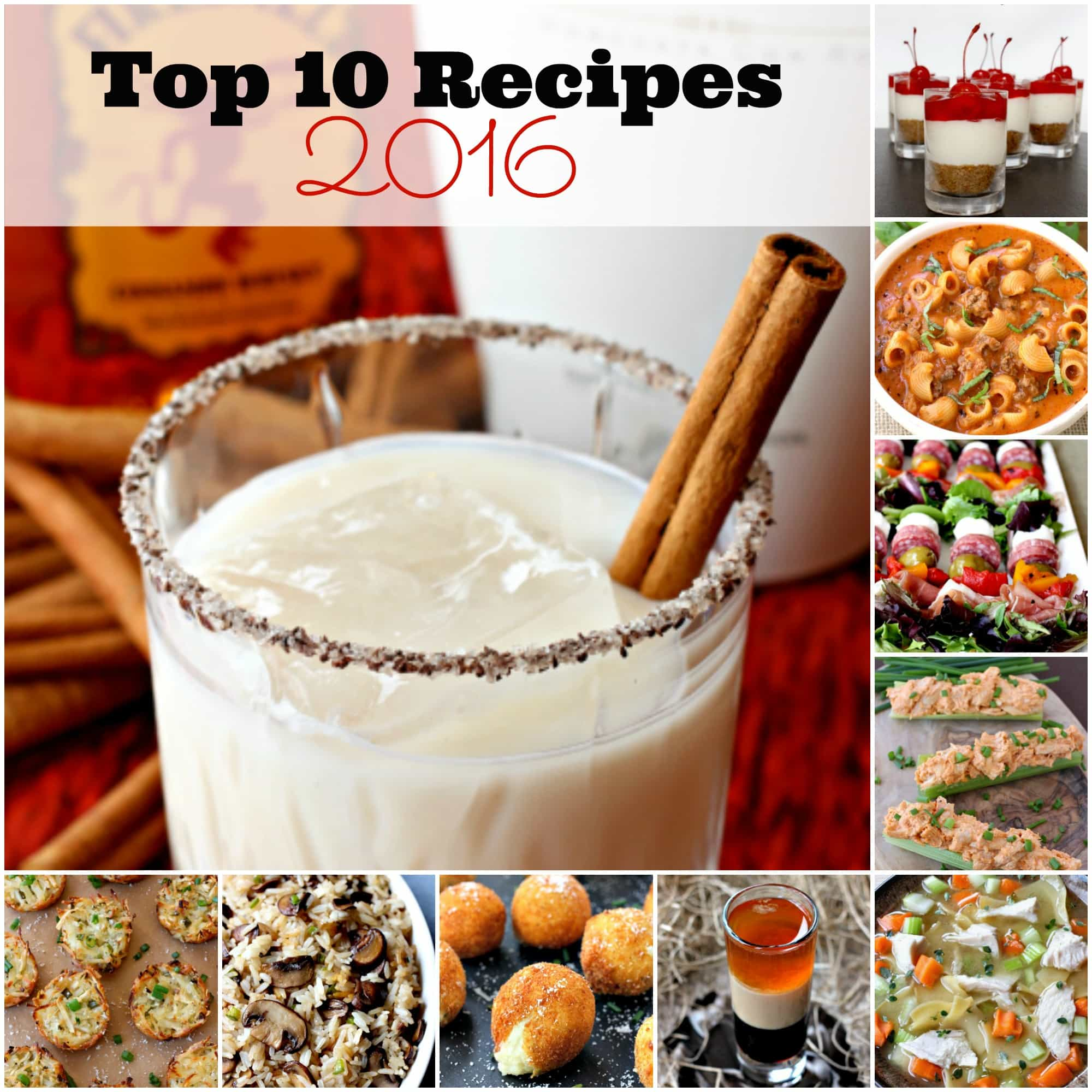 Top 10 Recipes of 2016 from Mantitlement