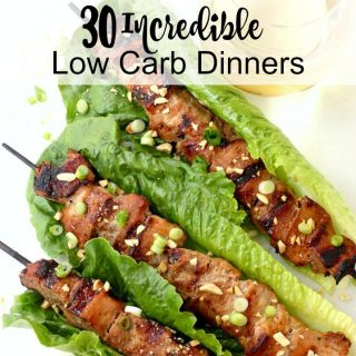 30 Incredible Low Carb Dinners