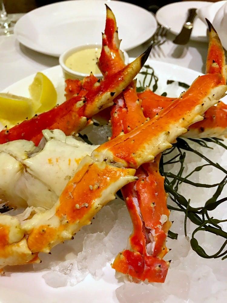 Ac Borgata Crab Legs at Bobby Flay Steak