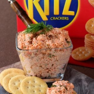 Easy Salmon Cracker Spread