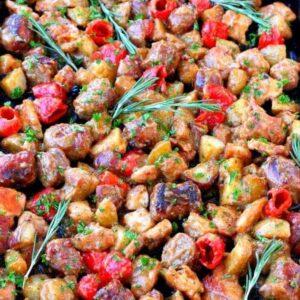 Sheet Pan Chicken Murphy | Easy Sheet Pan Chicken and Veggie Dinner