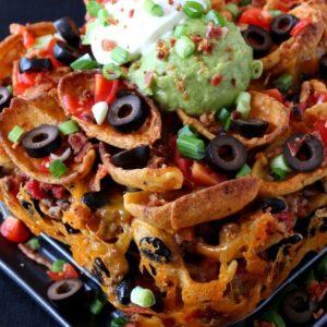 Trashcan Frito Nachos